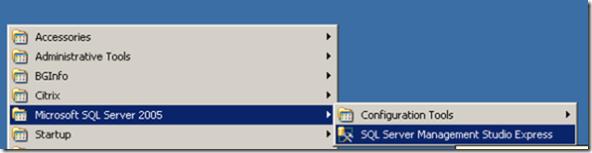 sql2005database