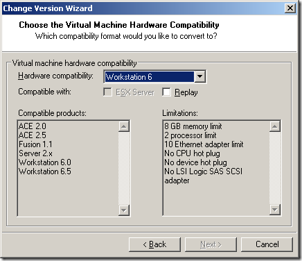 Change_VM_Hardware_Version_2