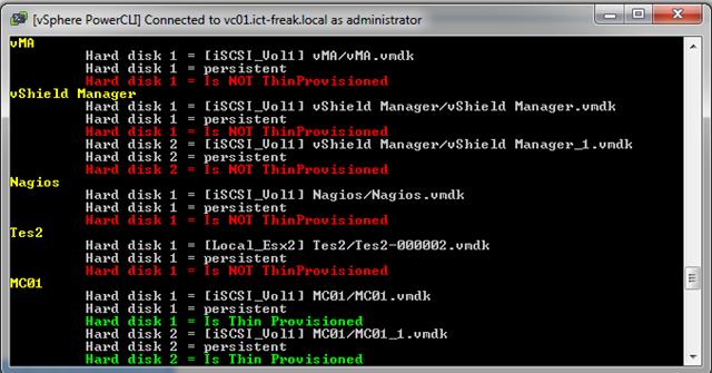 PowerCLI: Virtual Machine Disk (VMDK) info | ICT-Freak nl