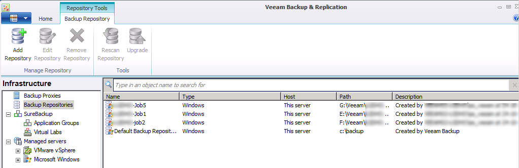 Veeam: Move Backup job to a brand new Veeam Backup server | ICT-Freak nl